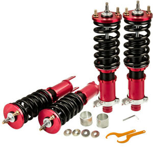 New Coilovers For Honda Civic 88 91 90 93 Acura Integra 24 Ways Adjust Damper