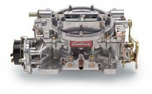 Edelbrock 1406 Performer Series 600 Cfm Carburetor Electric Choke