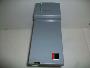 New Cutler Hammer 70 A Circuit Breaker Enclosure With 2 50 A Breakers Type 3r