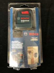 Bosch 30 Ft Self leveling Cross line Laser Level Gll 30 New And Sealed