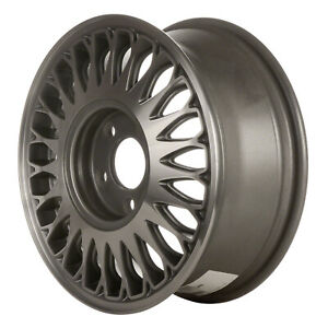 04517 Refinished Cadillac Deville 1994 1995 15 Inch Wheel Rim Machined W gray