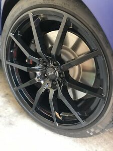 05 19 Mustang Gt Full Set Of 20inch Gt 350 Style Wheels Only Excellent Condition