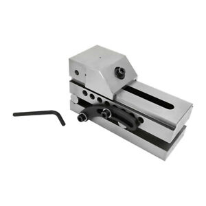 3 Jaw Toolmaker Sine Vise Grinding Ground Steel Clamping Milling Bench Vice