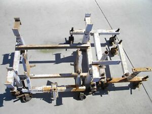 Tractor Splitting Dolly Stands Vintage Allis Chalmers Service Repair Fixture Jig