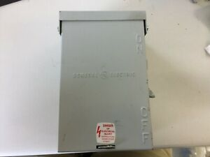 Ge Tc23111rh 30 Amp 125 Volt Fusible Transfer Switch