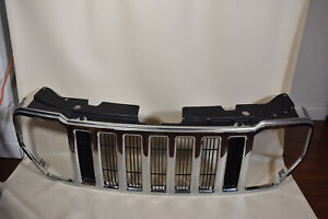 08 12 Jeep Liberty Front Grille Assembly Cover Insert Molding Chrome Oem