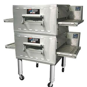 Middleby Marshall Ps636g Ps636 24 Doublestack Conveyor Pizza Oven Nat Gas