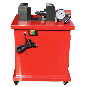 3 In 1 Busbar Bender Cutter Puncher Max 3 8 10mm Thick Max 15 Ton With 4 Dies
