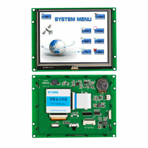5 6 Hmi Lcd Touch Display Module With Controller Board program serial Interface