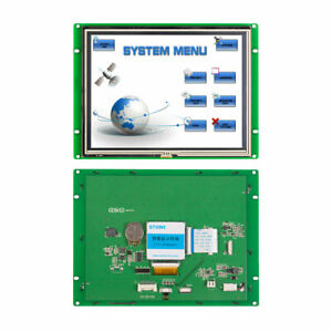 8 0 Resistive Hmi Tft Lcd Module Touch Screen With Serial Interface software