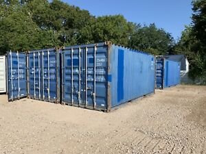 20 Foot Shipping Container Connex Storage Houston Texas