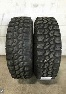 2x Lt285 70r17 Mud Claw Extreme Mt 14 15 32 Used Tires