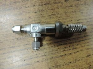 Small Needle Valve Stainless Steel Marked N