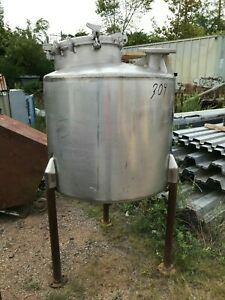 Perma san 150 Gallon Stainless Steel Tank