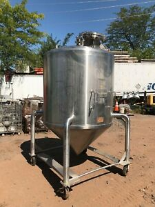 Cherry Burrel 550 Gallon 316 Stainless Steel Pressure Tank Tote