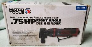 Matco Tools Mt4883 0 75hp Right Angle Die Grinder