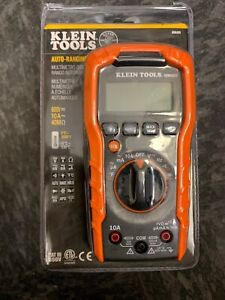 Klein Tools Mm400 Auto ranging Digital Multimeter 600v New Sealed Free Shipping