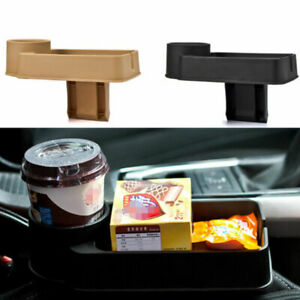 Universal Car Seat Seam Wedge Cup Holder Food Drink Bottle Tray Stand Organizer