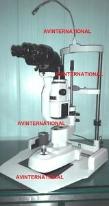 Slit Lamp 2 Step Zeiss Type Medical Specialties Ophthalmology Optometry Lamps