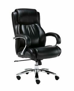 Big And Tall 500 Pounds Body Weight Support Executive Office Chair Heavy Duty