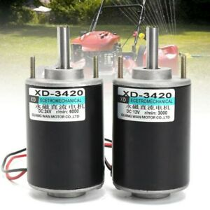 Dc 12 24v Permanent Magnet Electric Motor Generator 30w High Speed Cw ccw Part