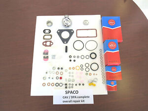 Spaco Cav dpa Rebuild Kit For Lucas Diesel Injection Pumps On Ford Mfand Others