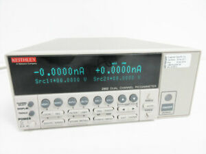 Keithley 2502 Dual Channel Picoammeter Keysight Calibrated April 2019 Warranty