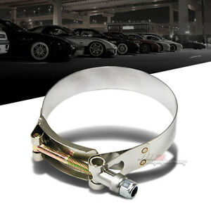 3 25 Stainless T bolt Clamp For Intake Turbo Intercooler Silicone Hose Coupler
