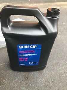 Genuine Quincy Quin cip 112543g100 Compressor Oil 1 Gallon New