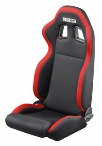 Sparco Street R100 Seat Black Red 00961nrrs