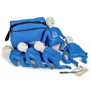 Cpr Prompt 5 Pack Infant Cpr Aed Training Manikins Blue