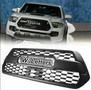 New Front Grille For 2016 2018 2019 Tacoma Trd Grill Hood Bumper Top Quality