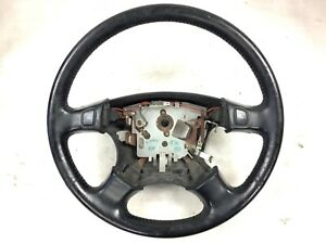 96 97 1996 1997 Accord Factory Steering Wheel Black Leather Used Genuine Oem