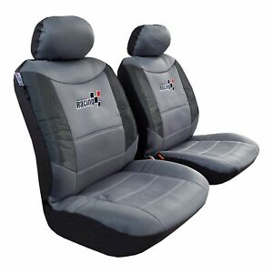 Front Seat Cover Mesh Cool Gray For Toyota Tacoma 1999 2019 Trd Racing Sports