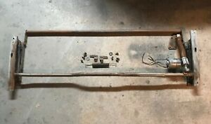 1955 1956 Cadillac 4 Way Power Front Seat Tracks Motor A Oem Used
