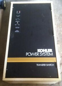 Kohler 30 4000 Amp Series S340 Automatic Generator Transfer Switch W Manual