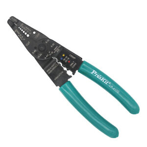 Automatic Wire Stripper Crimper Pliers Hand Stripping Crimping Tool Cable Cutter