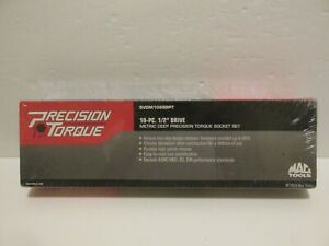 Mac Tools Metric Deep Precision Torque Socket Set Svdm106brpt