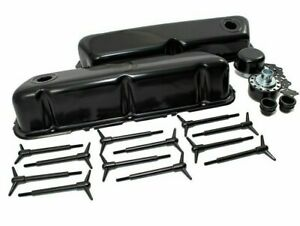Ford Valve Cover Dress Up Kit Black 62 85 Sbf 289 302 351w 5 0 Small Block New