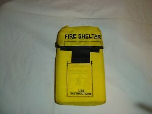 Fire Shelter Nfpa 1977 Rebagged 02 02 New Unissued Still Sealed In Clear Pouch
