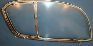 1953 1954 1955 Corvette Side Window Curtains 1 Pair Excellent Condition Dated