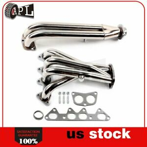 4cyl Stainless For Honda Accord F22 2 2l 94 96 Racing Header Exhaust Manifold