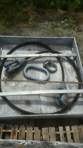Wire Rope Sling 105000 Lb Capacity 82 Ton Shackle Crane Rigging Lifting Cable