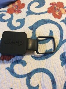 Oem Jeep 2 Rubber Trailer Tow Hitch Cover Plug Wrangler Renegade Cherokee