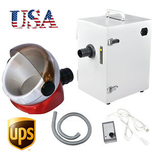 Usa Dental Lab Denshine Single row Dust Collector Vacuum Cleaner 370w Free Gift