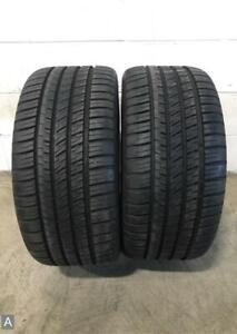 2x P255 35r18 Michelin Pilot Sport A s 3 9 10 32 Used Tires