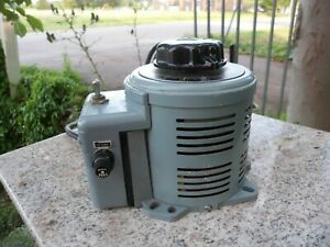 Superior Electric Powerstat 3pn116c Variable Transformer 10a 1 4kva 120 140v Out