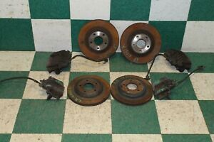 97 04 C5 Lh Rh Front Rear Brake Caliper Rotor Set Lines Factory Oem Corvette