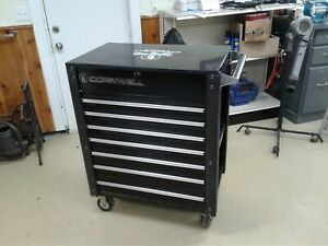 Cornwell Tool Box Cart Toolbox Toolcart 7 Drawer