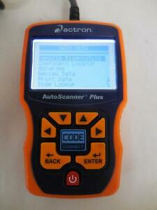 Actron Auto Scanner Plus Cp9580a